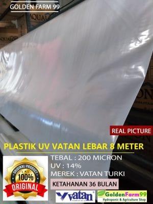 plastik uv vatan lebar 8 meter